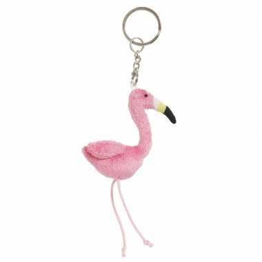 Flamingo sleutels hanger 6 cm