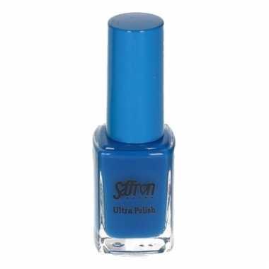 Fluoriserende blauw nagellak