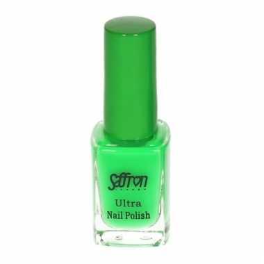 Fluoriserende groen nagellak