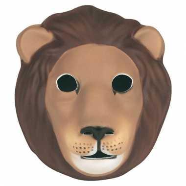 Foam leeuwen maskers voor kids