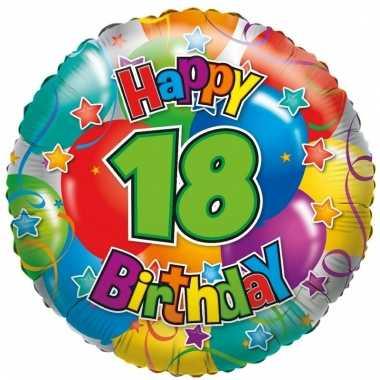 Folie ballon 18 jaar 35 cm