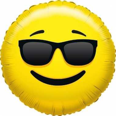 Folie ballon coole smiley 35 cm