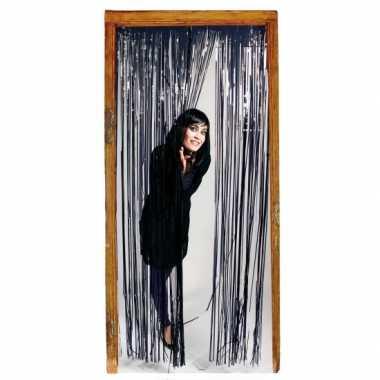 Folie deurgordijn zwart