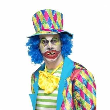 Fopgebit scheve clownstanden
