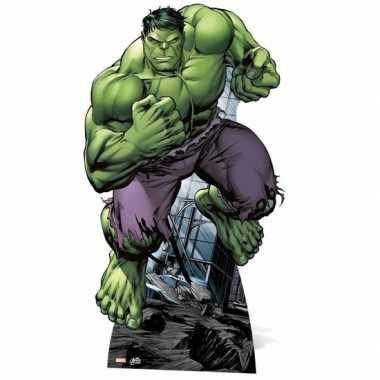 Foto bord van de groene hulk