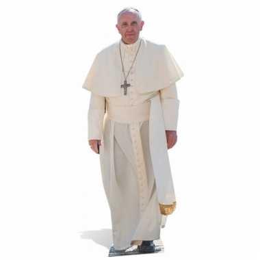 Foto bord van de paus