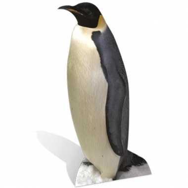 Foto bord van een pinguin
