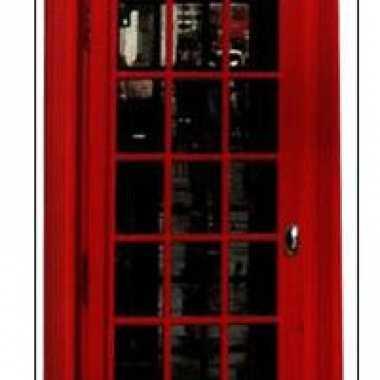 Foto bord van rode telefoon cel