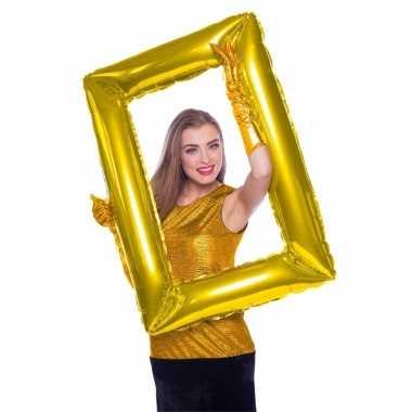 Foto props gouden schilderij frame
