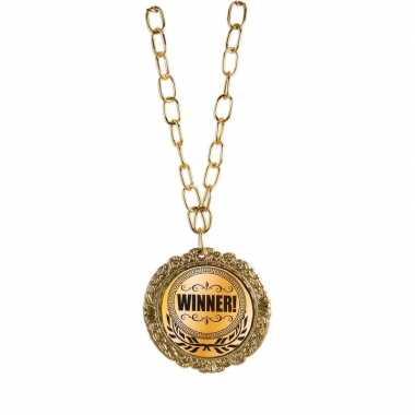 Gouden medaille winnaar