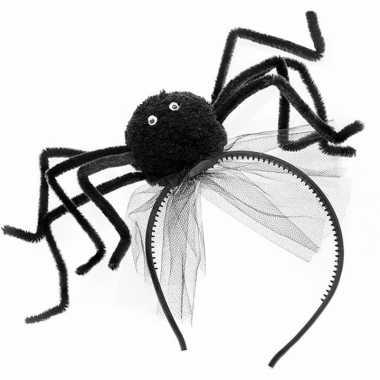 Haarbanden met zwarte spin