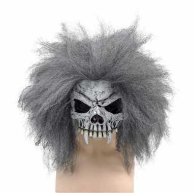 Half schedel masker vampier