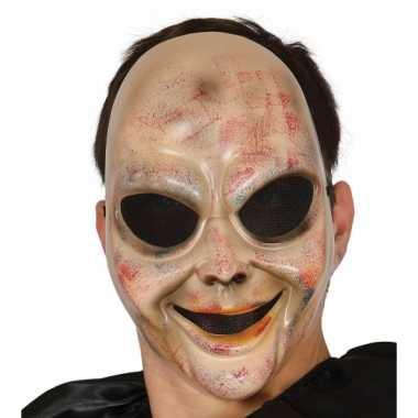 Halloween alien masker voor kinderen