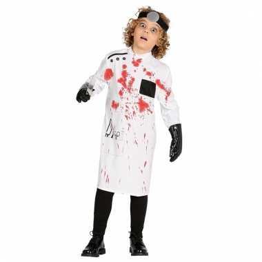 Halloween bebloede dokterjas voor kids