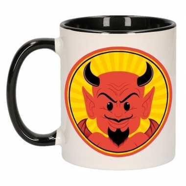 Halloween duivel mok / beker 300 ml