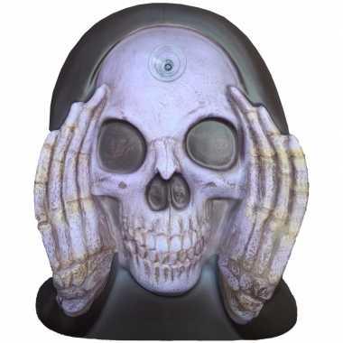 Halloween - enge gluurder skelet hoofd decoratie