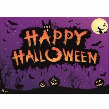 Halloween feestversiering poster liggend 59 cm