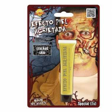 Halloween - gebarsten huid schmink geel 28,3 gram