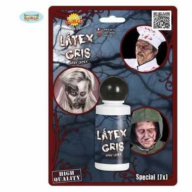 Halloween - grijze latex schmink 28 ml