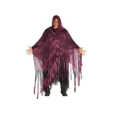 Halloween - horror duistere man kostuum paars