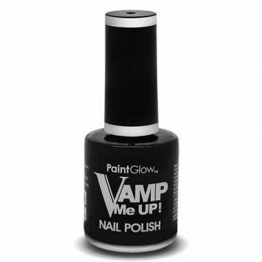 Halloween/horror mat zwarte nagellak 12 ml
