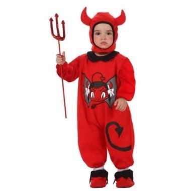 Halloween kostuum duivel voor baby