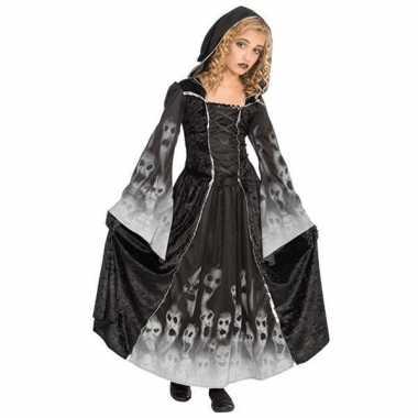Halloween kostuum gothic kinder jurk