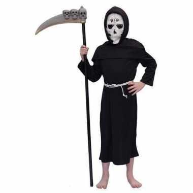 Halloween kostuum magere hein kind