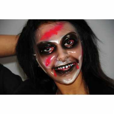 Halloween masker zombie vrouw