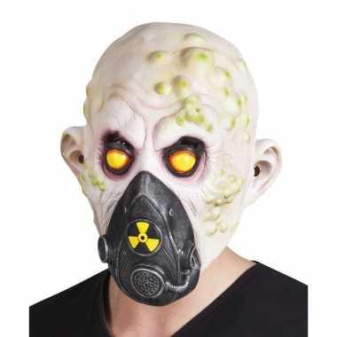 Halloween - nucleair slachtoffer halloween masker van latex
