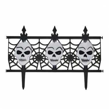 Halloween schedel decoratie hekje