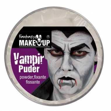 Halloween schmink poeder vampier