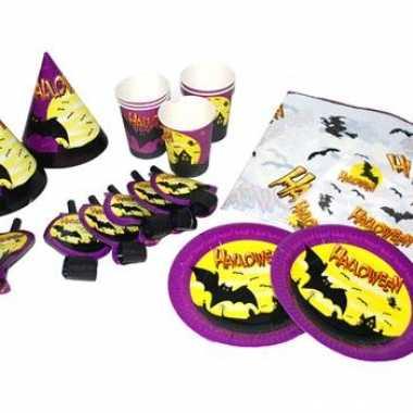 Halloween set met bordjes