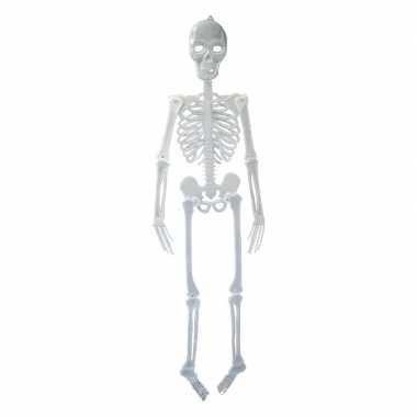 Halloween skelet glow in the dark 150 cm