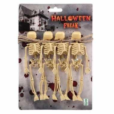 Halloween skeletten slinger