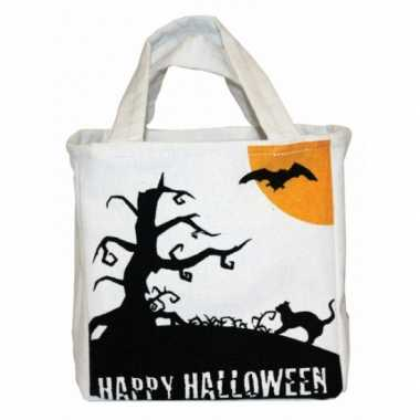 Halloween snoep tas van canvas