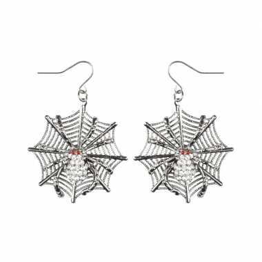 Halloween - spinnen heksen oorbellen voor dames