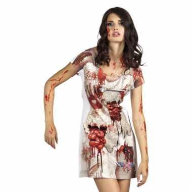 Halloween zombie bruidsjurkje