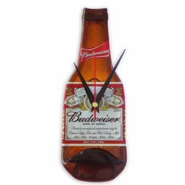 Handgemaakte budweiser bier klok
