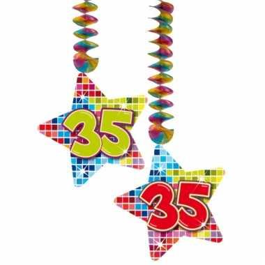 Hangdecoratie 35e verjaardag