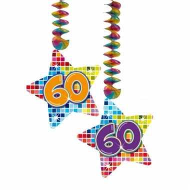Hangdecoratie 60e verjaardag