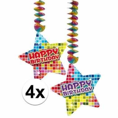 Hangdecoratie happy birthdaye verjaardag