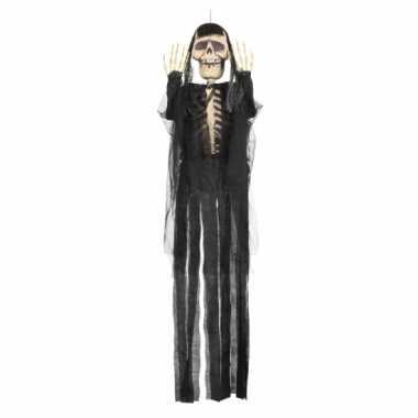 Hangdecoratie skelet de dood 150 cm