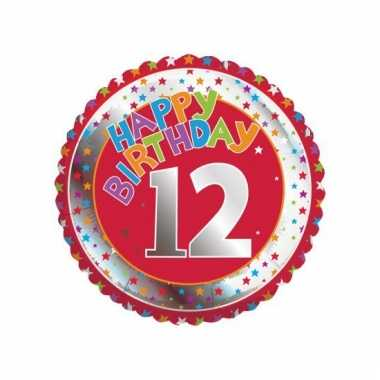 Happy birthday 12 jaar verjaardag