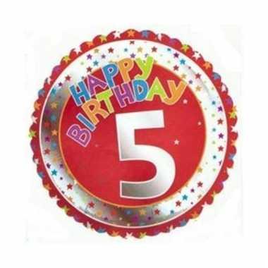 Happy birthday 5 jaar verjaardag