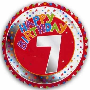Happy birthday 7 jaar verjaardag