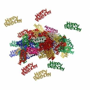 Happy birthday verjaardag confetti 30 gram