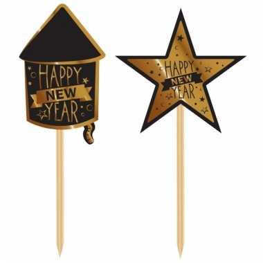 Happy new year prikkers 20 stuks