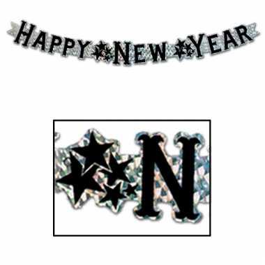 Happy new year wenslijn goud 90 cm