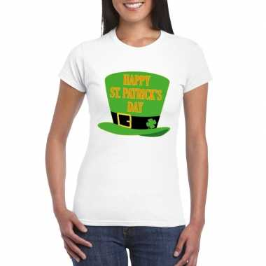 Happy st. patricksday shirt wit dames
